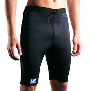 LP 762 Pro Warm Shorts 2.5MM THICK NEOPRENE COMPRESSION SHORTS Heat Hamstring