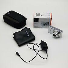 Sony Cyber-Shot DSC-W830 20.1MP Digital Camera - Silver + Original Box + Case
