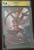 WHITE WIDOW #4 CGC SS 9.8 GREG HORN SIGNED X3 - BLOOD WIDOW VIRGIN