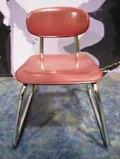 Vintage Children Classroom Chair Student Child School 22x20x17 Chrome/metal used