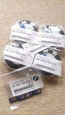 Set of 4 BMW Wheel Centre Caps Fits Most 1 3 5 7 Series X6 M3 Z4 E46 E90 68mm