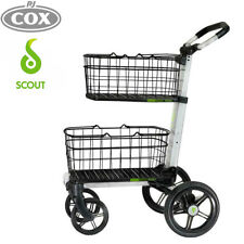 Scout Cart SCV1 All Purpose Folding Trolley Compact Collapsible cart w/Baskets
