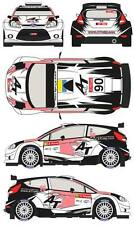 1/43 Decal Ford Fiesta S2000 #90 Rally Portugal 2013 (P.G. Andersson)