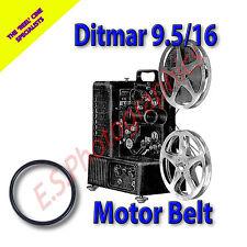 Ditmar 9.5/16mm 9.5mm 16mm Motor principal cine Proyector Belt (cinturón)