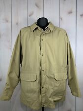 Vintage Woolrich Flannel Lined Parka Coat Barn Chore Made in USA