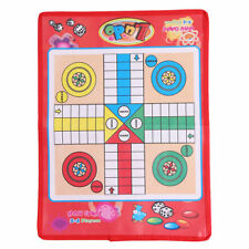 Non-woven Fabrics Foldable Ludo Snake Chess Board Game Family Game