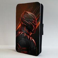 Black Panther Marvel Superhero FLIP PHONE CASE COVER for IPHONE SAMSUNG