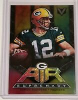 2017 PANINI VERTEX AIR SUPREMACY AARON RODGERS #AS-10 GREEN BAY PACKERS