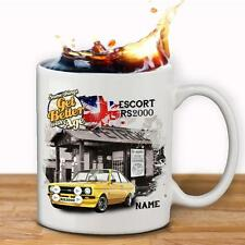 Personalised FORD ESCORT RS2000  Car Mug Cup Dad Custom Gift - Add Name
