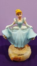 1999 Disney Cinderella at the Ball in Blue Dress Ron Lee Sculpture 298 / 1500