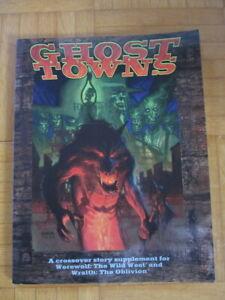 Werewolf Wild West / Wrath Oblivion – Ghost Towns – English Supplement – White W