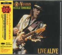 Stevie Ray Vaughan And Double Trouble Live Alive JAPAN CD with OBI ESCA7635