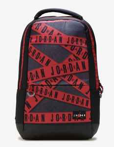 NWT NIKE JORDAN Men's Jumpman Black Caution Laptop Large Backpack Bag