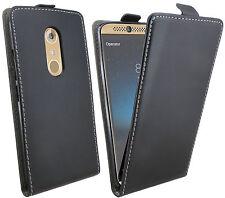 Handytasche für ZTE AXON 7 MINI Case Cover Hülle Zubehör Flip Tasche in Schwarz