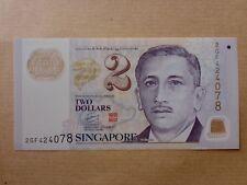 Singapore $2 Polymer Education (PERFECT UNC) 2GF 424078