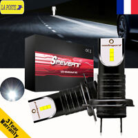 2x 55W 13000LM H7 LED Ampoules Voiture Feux Phare Lampes avec 2 Broches 6000K