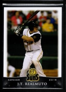 JT REALMUTO  MINORS PRE ROOKIE 2014 GRANDSTAND JACKSONVILLE SUNS #11
