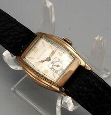 BULOVA Vintage Watch 17J Cal 10AE 10K-RGP  Clean Runs Art-Deco Case.