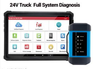 Genuine LAUNCH X431 V+ Heavy Duty HD Module 24V Truck Diesel Diagnostic Scanner