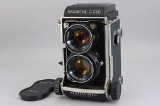 Rare! Exc+ Mamiya C220 Tlr Medium Format Body w/ 80mm f3.7 Lens From Japan