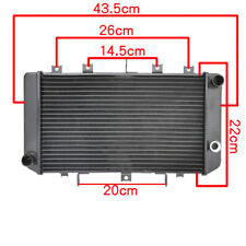 Motorcycle Engine Cooling Radiator For Kawasaki Z750 2004-2006 Z750S 2005-2007