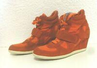 Baskets ASH Limited Bowie Taille 38 talons compensés orange pointure femme