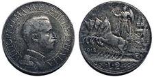 2 Lire 1912 Quadriga Veloce BB+