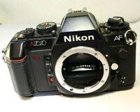 Nikon N2020 AF Auto Focus camera body only 35mm film SLR AS IS Parts or Repair