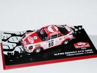 RMC1M 1/43 IXO altaya Rallye Monte Carlo RENAULT Alpine A110 1600S 1972 Moss