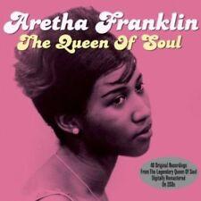 CD de musique vocaux Aretha Franklin avec compilation