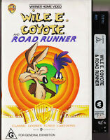 Wile E. Coyote And Road Runner Classics -Vintage VHS Video Tape