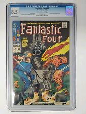 Fantastic Four #80 CGC 8.5   First appearance Tomazooma   Marvel 1968