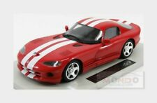 Dodge Viper Gts Coupe 1996 Red Met White LS-COLLECTIBLES 1:18 LS016B Model