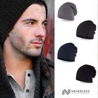 Strickmütze Herren Winter-Mütze Beanie aus weichem Feinstrick Neverless®