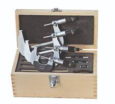 Kit Micromètre 0-100 mm - avec Friktionsratsche - Hm-Messflächen Din 863