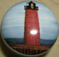 Cabinet Knobs Lighthouse Light house Wisconsin Pier