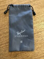 RAY BAN-SUNGLASSES-DRAWSTRING-BAG-POUCH-BRANDED-AMAZING CONDITION