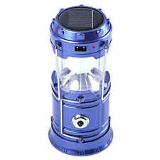 5800-T Rechargeable Solar Camping Lantern(Blue)