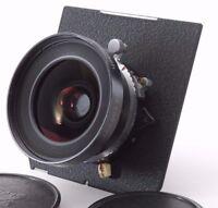 Schneider-Kreuznach Super-Angulon 65mm F/5.6 MC w/ Shutter Linhof Board [Exc+]