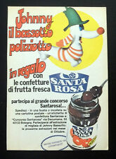 F271-Advertising Pubblicità-1975-SANTA ROSA JOHNNY BASSOTTO POLIZIOTTO