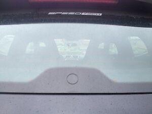 Heckwischerabdeckung Glasstopfen ECHT GLAS Clean Heckscheibe Audi A3 8P 8PA S3