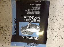 2002 Toyota Rav4 RAV 4 EV Electric Vehicle Service Shop Repair Manual OEM Factor