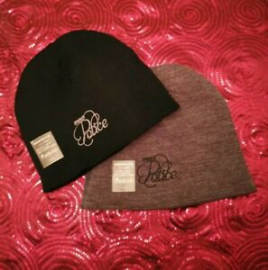 2 x 883 Police Denim Authority Beanie Hats - 'Comet' Editions, One Size Fits All