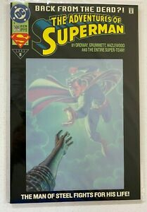 Adventures of Superman #500 DC 8.0 VF (1993)