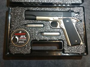 Winchester model 11K Air Pistol by Daisy with extras.