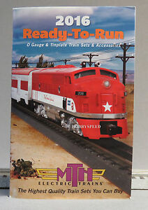 MTH 2016 READY TO RUN TRAIN CATALOG o gauge train mth lionel standard dealer NEW