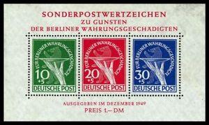 Berlin Block 1 - 8 , ** , Auswahl