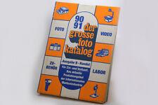 der grosse foto katalog 90/91, Angebot des deutschen Fotohandels GFW-Düsseldorf