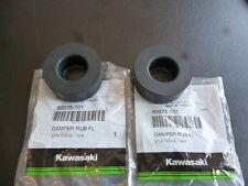 Kawasaki g7 ke125 kh250 kh400 kz440 kz650 Fuel Tank Rubber Dampers X2 Genuine.