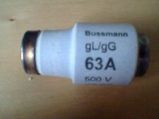 BUSSMAN 65D63  TYPE D FUSELINKS  (5pack)